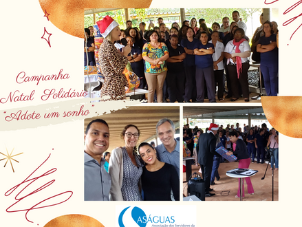 """Campanha de Natal Solidário """"Adote um sonho"""""""