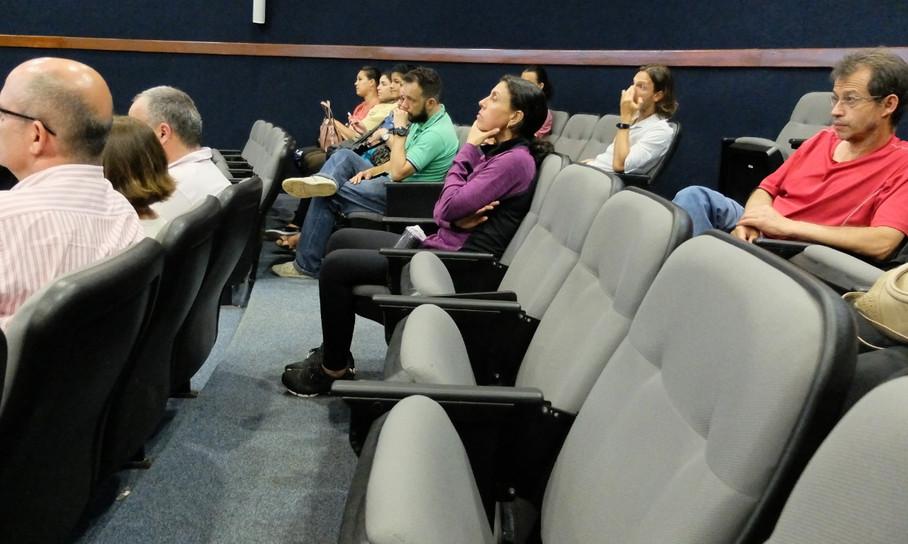 Debate técnico realizado em 2018