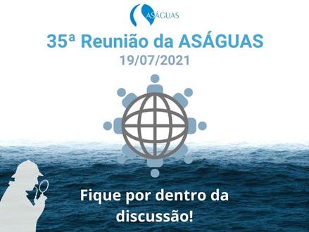 ASÁGUAS organiza Roda de Conversa para debater sobre a MP Nº1.055/2021