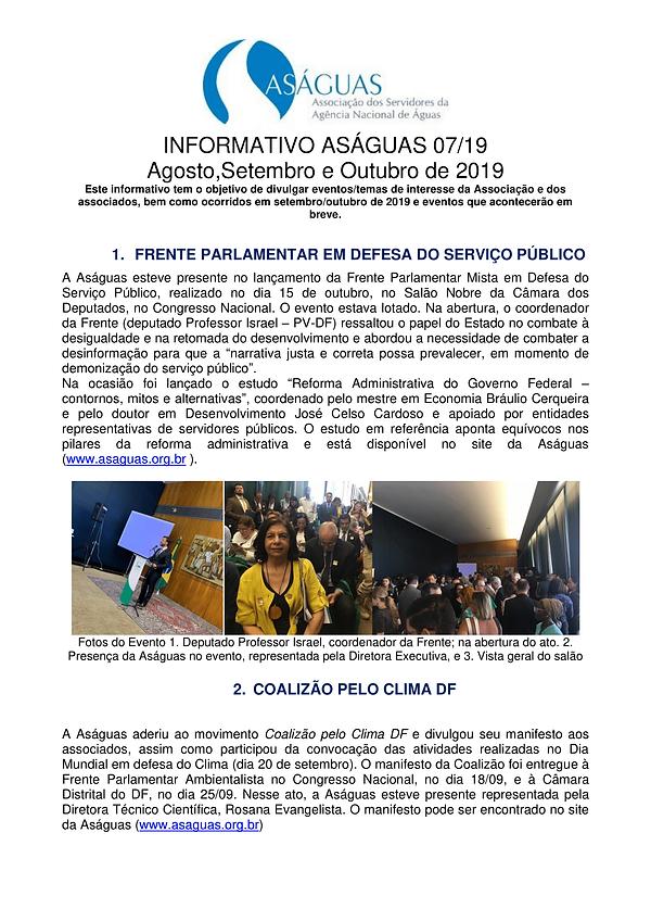 Informativo_Asaguas0 07-2019 - ago set e