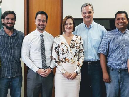 Reunião com a Diretora-Presidente da ANA e a direção da ASÁGUAS