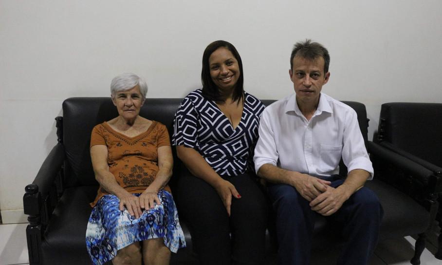 Valmir e sua família