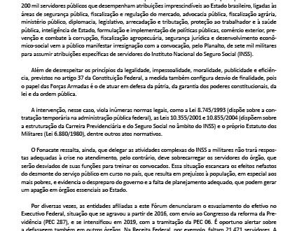 Nota Pública Fonacate