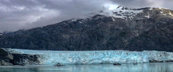 mountains and glaciers in Alaska