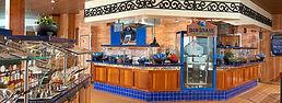 blue iguana on the carnival spirit