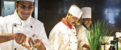 Chefs on board the Carnival cruise