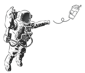 Drawing of a Spaceman