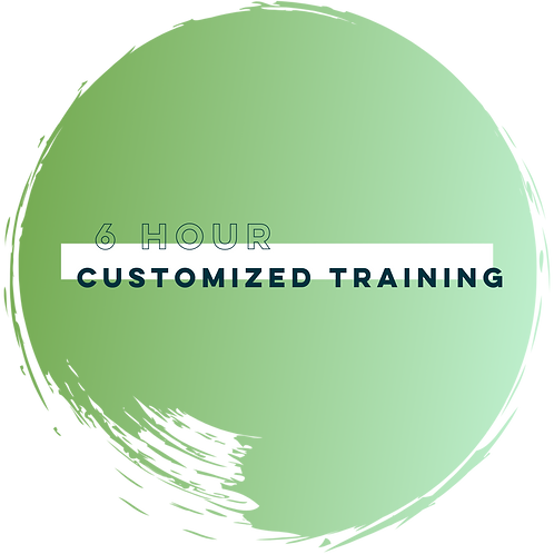 Customized Training (6 Hours)