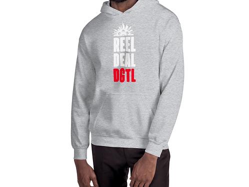 Reel Deal Digital DGTL Grey Hoodie