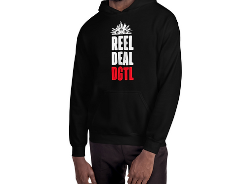 Reel Deal Digital DGTL Black Hoodie