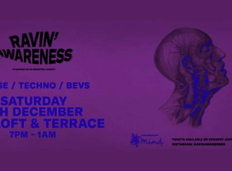 Venue Finder: Ravin' Awareness for Mind at VR5 London | All Around Events