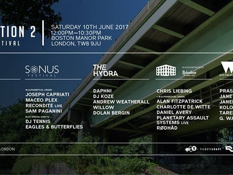 Junction 2 Festival - Adam Beyer, Maceo Plex, Ben Klock, Daphni