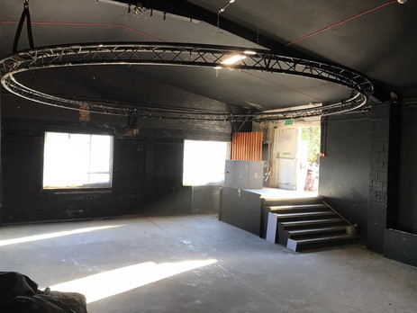 Studio location for events, in Hackney Wick warehouse conversion