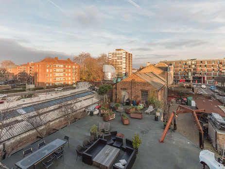 Unique Outdoor space in Hoxton