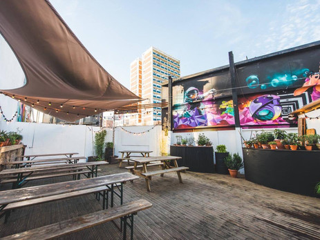 Roof Terrace in Shoreditch