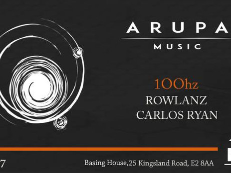 ARUPA MUSIC w/ 100Hz, Rowlanz & Carlos Ryan