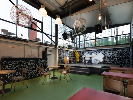 Outdoor and Indoor Venue next to the Canal in Hackney Wick