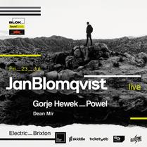 Jan Blomqvist Live at Electric Brixton