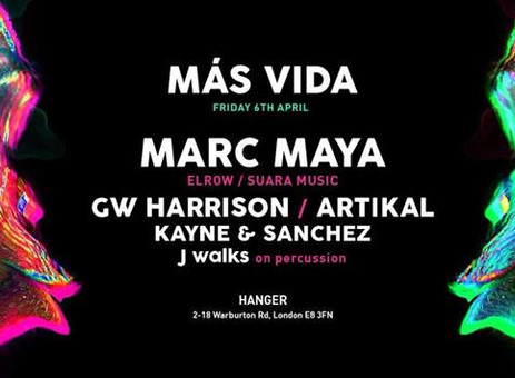 Más Vida Feat. Marc Maya (Elrow/Suara Music)