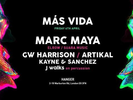 Más Vida Feat. Marc Maya (Elrow/Suara Music)