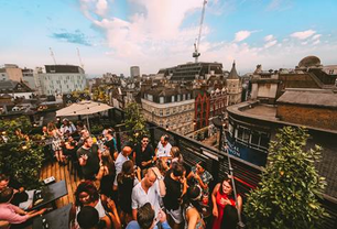 The Roof Terrace in soho