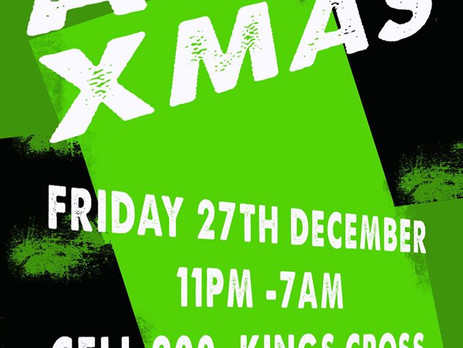 Venue Finder: Acid Xmas at CELL 200 London | All Around Events