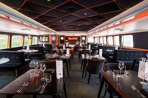 Unique restaurant ship