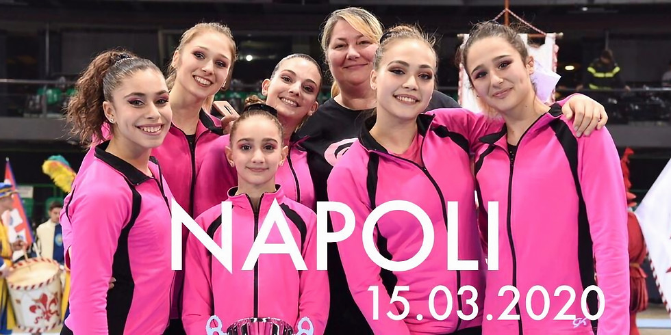 WORKSHOP con Monia e le Ginnaste del CSB   Napoli 15Marzo2020
