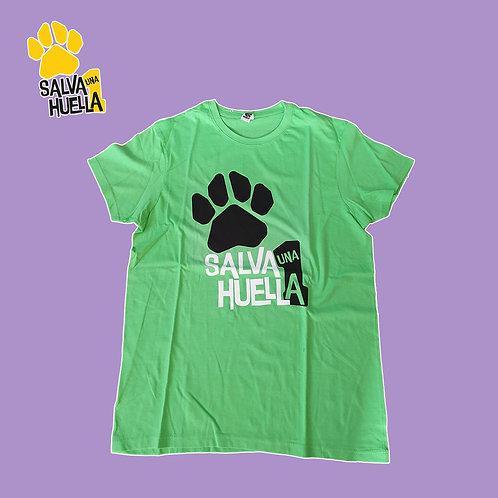 Camiseta Salva 1 Huella Verde - Adultos y Niños/as
