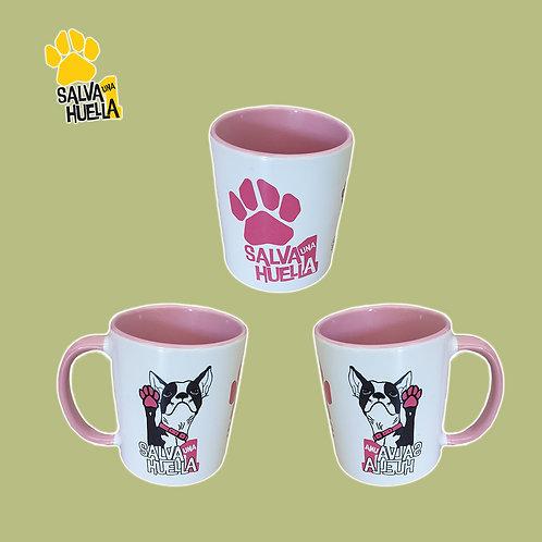 Taza Bulldog Rosa