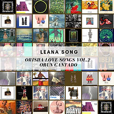 Leana Orisha Love Songs Vol.2 Temp Cover