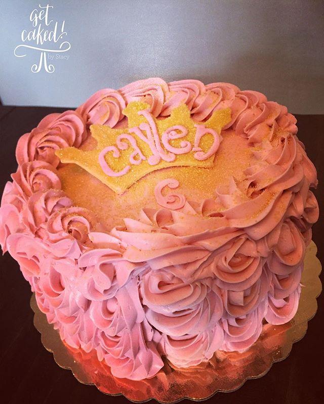 pretty in pink rosette