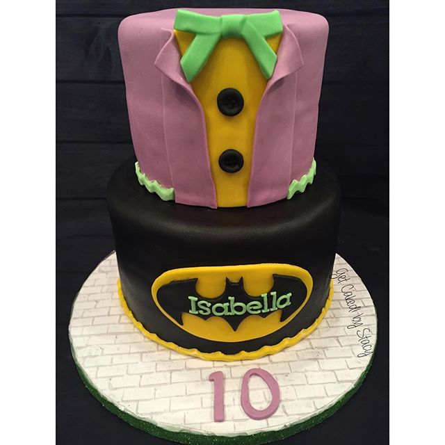 Batman Joker Cake