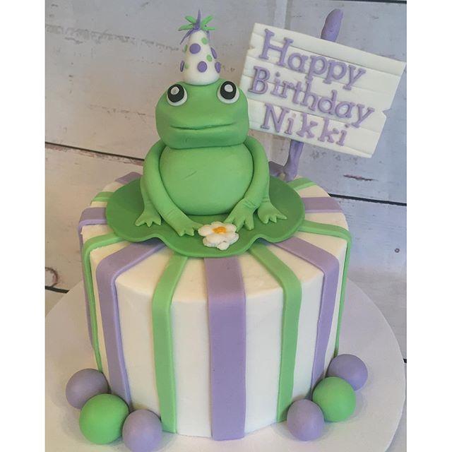 Frog cake!