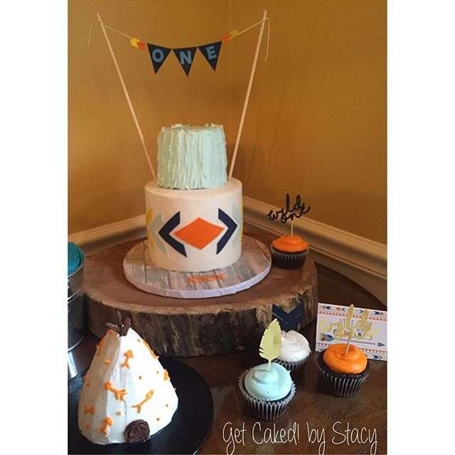 Rustic tribal 1st birthday!