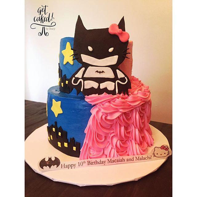 BatKitty Cake