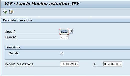 creazione comunicazione periodica liquidazioni IVA in SAP