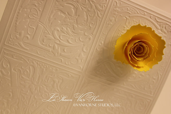 Yellow Blossom Card
