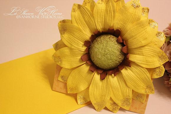 Sunny Sunflower Card