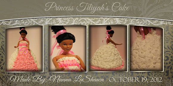 Tiliyah Princess Cake