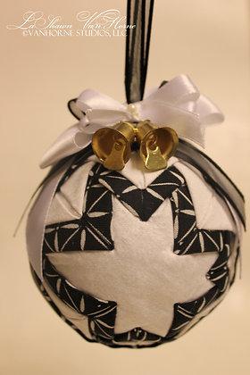 Black & White Ornament