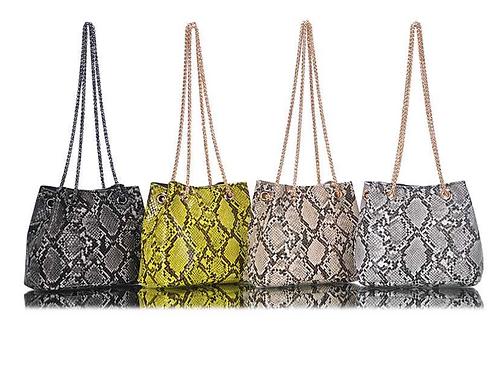 Mini Python Shoulder Bag