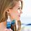 Thumbnail: Oversized Tassel Earrings