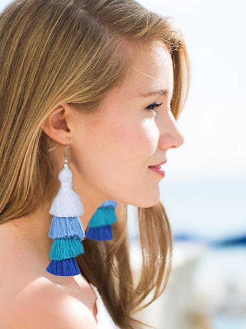 Oversized Tassel Earrings