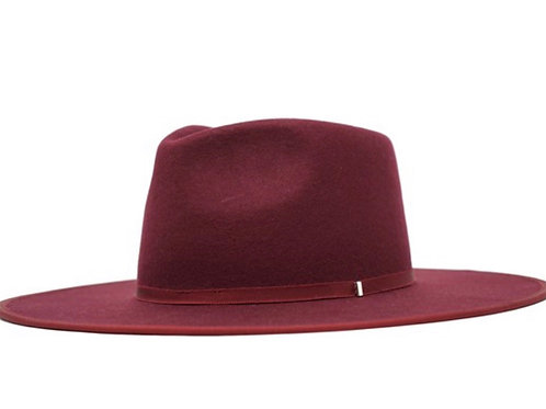 Supreme Hat- Burgundy