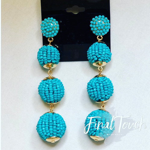 Beaded Tower turquoise