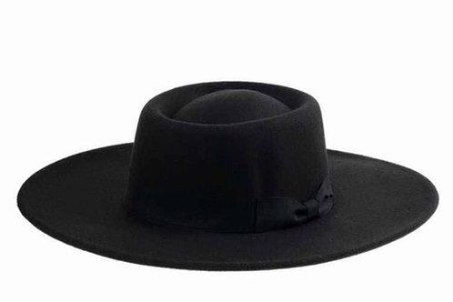 Vegan Panama Hat _Black