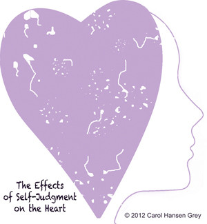 Self-Judgment: The Road to a Broken Heart