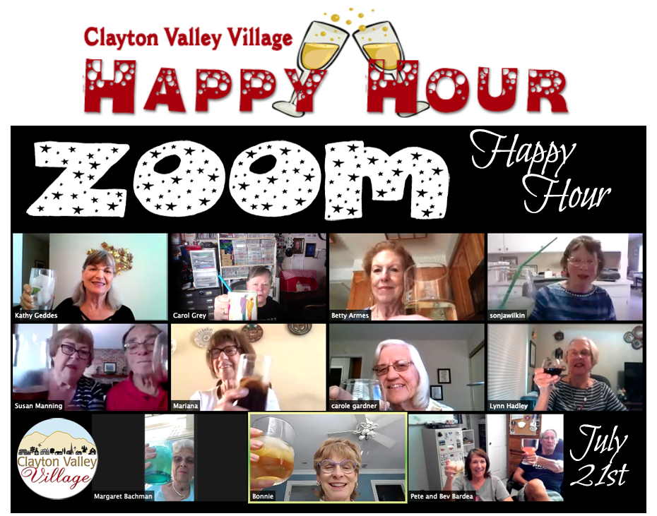 Our Monthly Happy Hour
