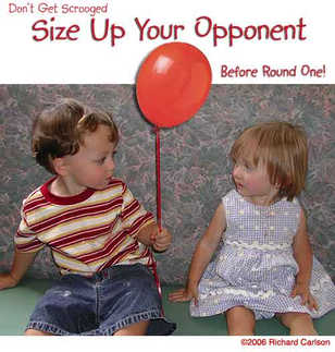 Size up your opponent before Round One!